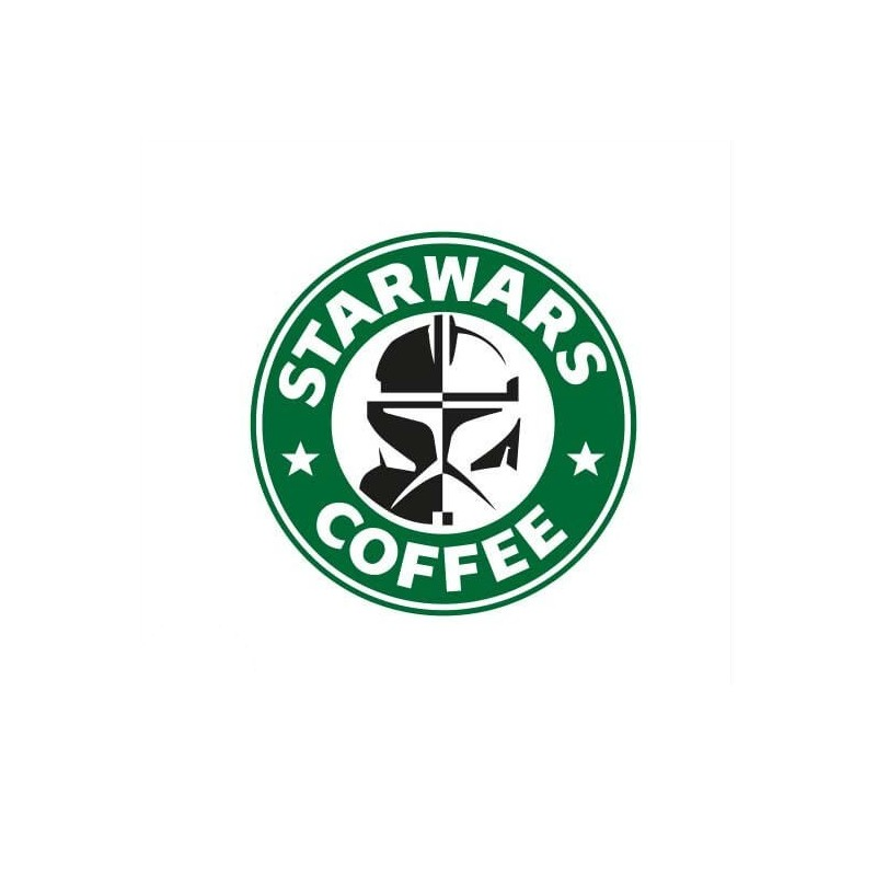 Star Wars Coffee funny sticker
