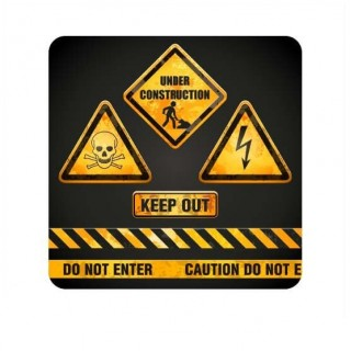 Keep out funny sticker