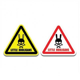 Little hooligans funny stickers