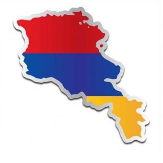 Landensticker Armenië