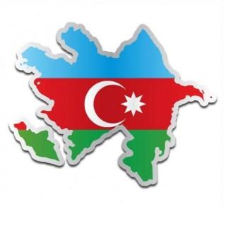 Landensticker Azerbeidzjan