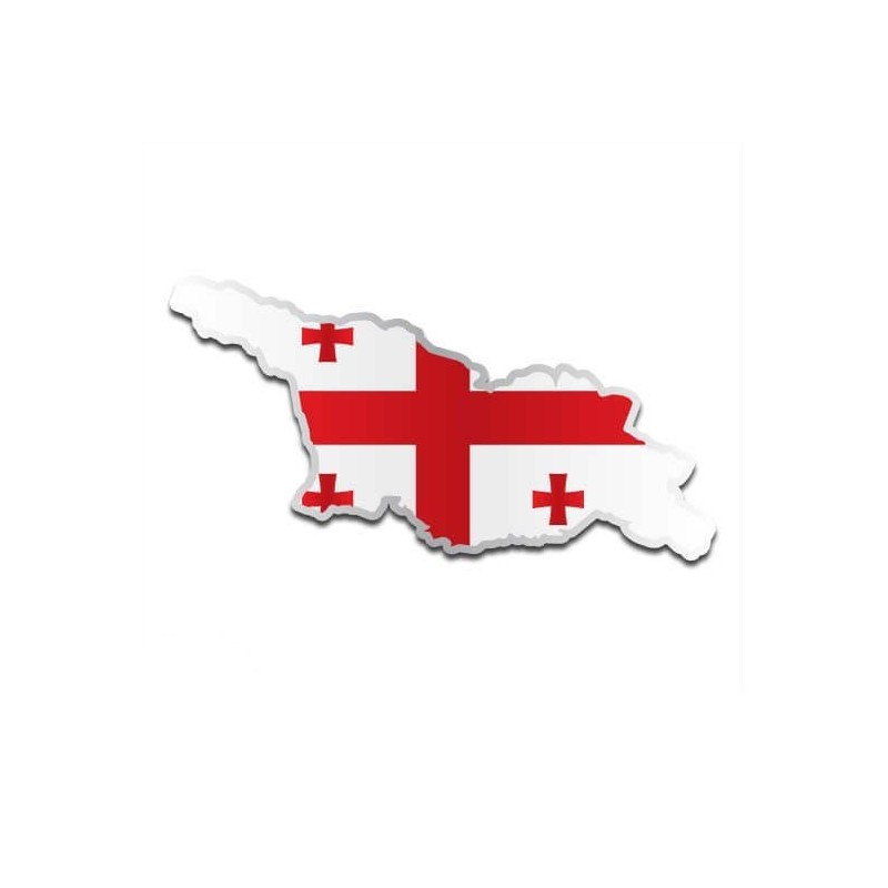 Landensticker Georgië