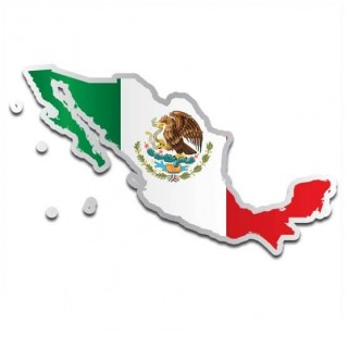 Landensticker Mexico