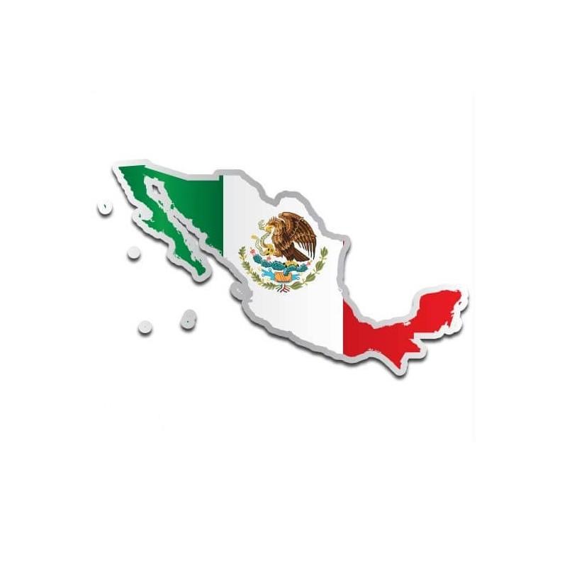 Landensticker Mexico