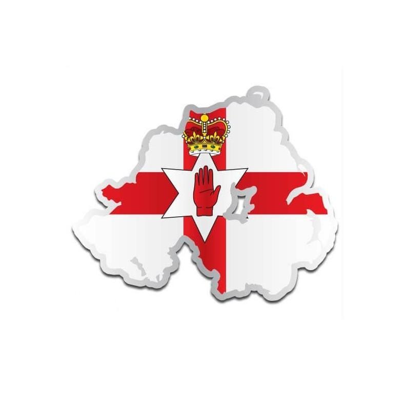 Landensticker Noord-Ierland