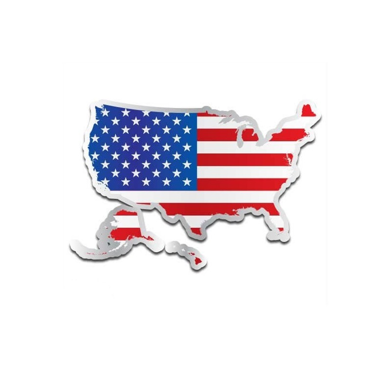 Landensticker Verenigde Staten