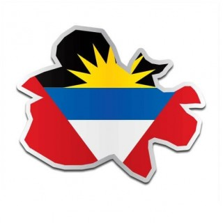 Landensticker Antigua