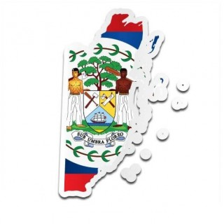 Landensticker Belize