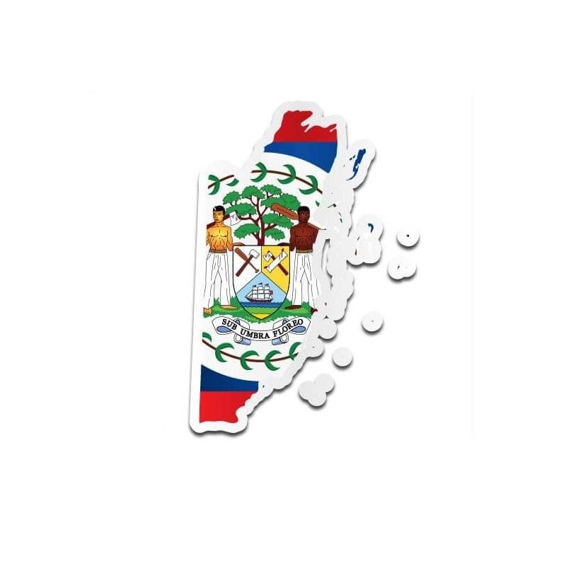 Landensticker Belize