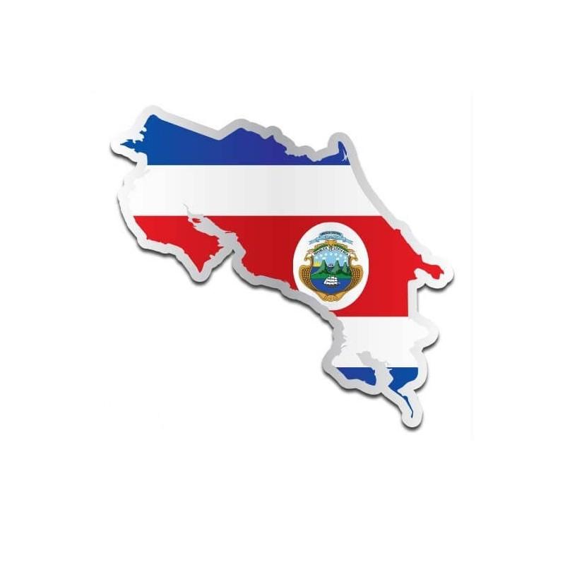 Landensticker Costa Rica