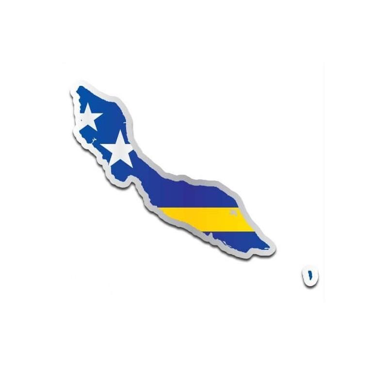Landensticker Curaçao