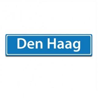 Plaatsnaam sticker Den Haag