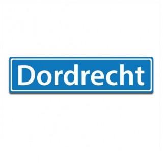 Plaatsnaam sticker Dordrecht