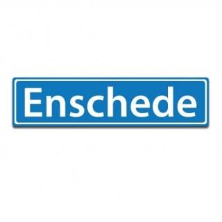 Plaatsnaam sticker Enschede