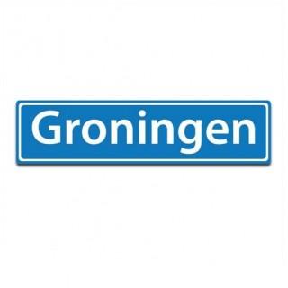 Plaatsnaam sticker Groningen