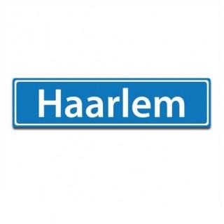 Plaatsnaam sticker Haarlem