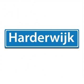 Plaatsnaam sticker Harderwijk