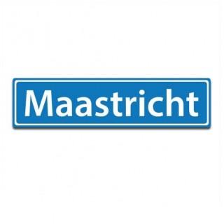 Plaatsnaam sticker Maastricht