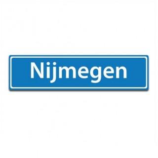 Plaatsnaam sticker Nijmegen