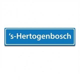 Plaatsnaam sticker 's-Hertogenbosch