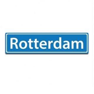 Plaatsnaam sticker Rotterdam