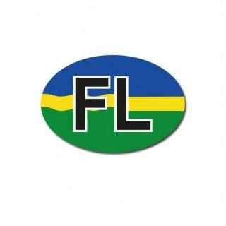 Flevoland auto provincie sticker