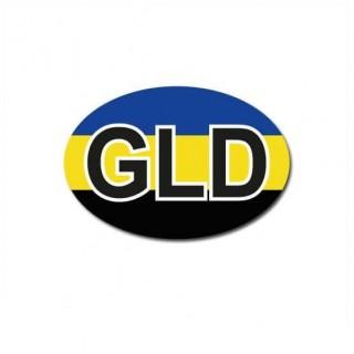 Gelderland auto provincie sticker