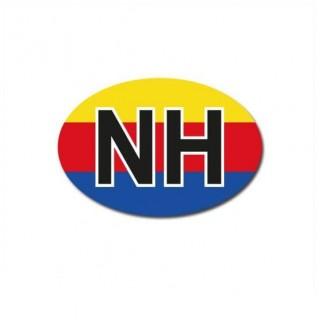 Noord-Holland auto provincie sticker