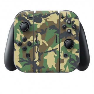 Camouflage Switch Joy-Con + Grip Skin