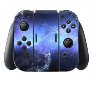 Sterren kaart Switch Joy-Con + Grip Skin