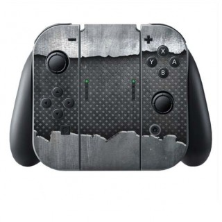 Metaal Scheur Switch Joy-Con + Grip Skin
