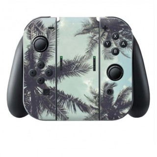 Palmbomen Switch Joy-Con + Grip Skin