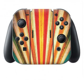 Rainbow Grunge Switch Joy-Con + Grip Skin