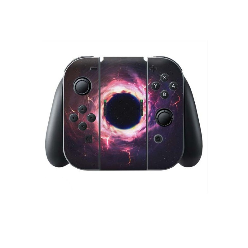 Zwart Gat Switch Joy-Con + Grip Skin