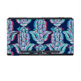 Nintendo Switch Skin Psychedelische Bloemen