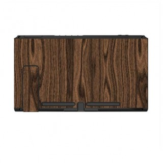 Nintendo Switch Skin Hout Walnut