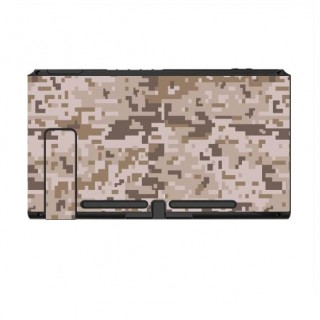 Nintendo Switch Skin Digital Camo Desert