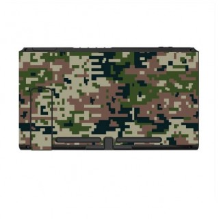 Nintendo Switch Skin Digital Camo Forest