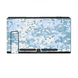 Nintendo Switch Skin Digital Camo Snow