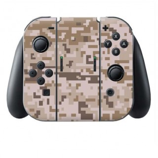 Digital Camo Desert Switch Joy-Con + Grip Skin