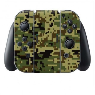 Digital Camo Jungle Switch Joy-Con + Grip Skin