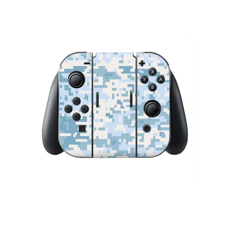 Digital Camo Snow Switch Joy-Con + Grip Skin