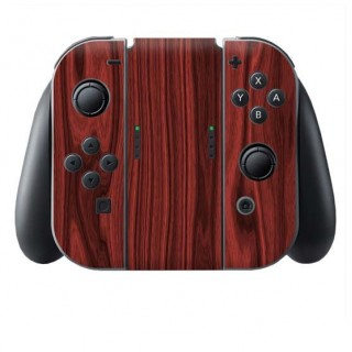 Hout Rosewood Switch Joy-Con + Grip Skin