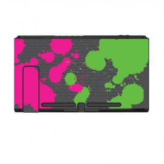 Nintendo Switch Skin Splat Green Pink