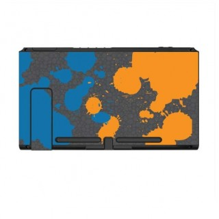 Nintendo Switch Skin Splat Orange Blue