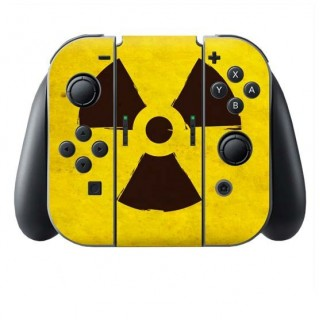 Radioactief Switch Joy-Con + Grip Skin