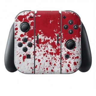 Bloedvlekken Switch Joy-Con + Grip Skin