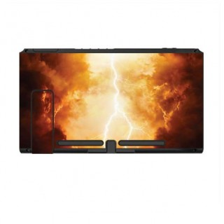 Nintendo Switch Skin Inferno