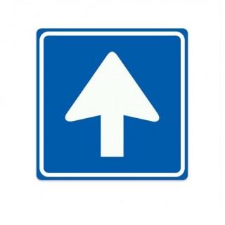 C03 eenrichtingsweg verkeersbord sticker
