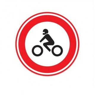 C11 Gesloten voor motorfietsen verkeersbord sticker